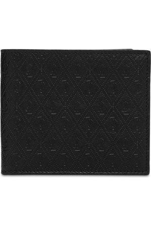 Saint Laurent Allover Monogram Leather Wallet