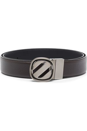 Ermenegildo Zegna Buckle-fastening leather belt
