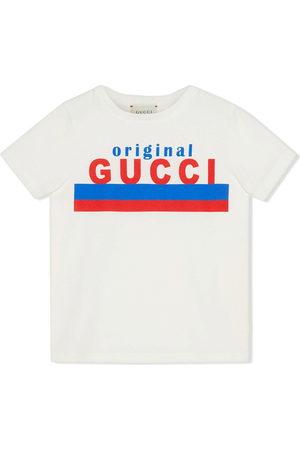 Gucci Boys Short Sleeve - Original Gucci-print T-shirt