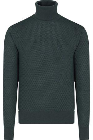 Dolce & Gabbana Men Turtlenecks - Turtleneck cashmere-blend jumper