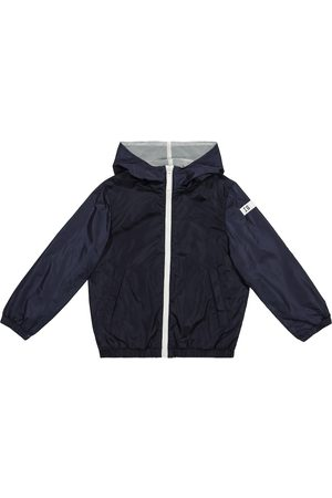 Il gufo Hooded technical jacket