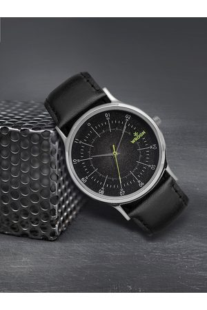 WROGN Men Charcoal Black Analogue Watch WRG00042B