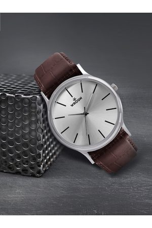 WROGN Men Silver-Toned Analogue Watch WRG00048A