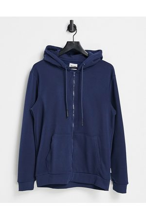 Only & Sons Zip through hoodie in
