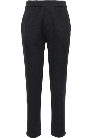 The Row Men Formal Trousers - Wool & Cashmere Felt Pants