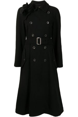 Comme des Garçons Double-breasted belted trench coat