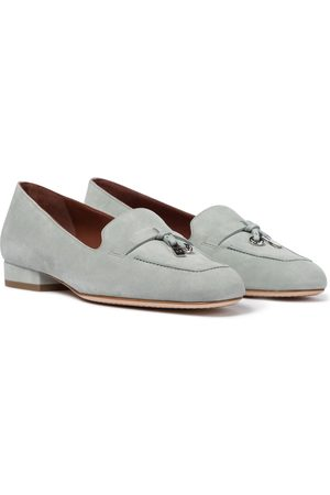 Loro Piana Women Ballerinas - Summer Charms suede loafers