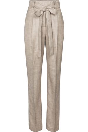 GABRIELA HEARST Collins wool, silk and linen pants