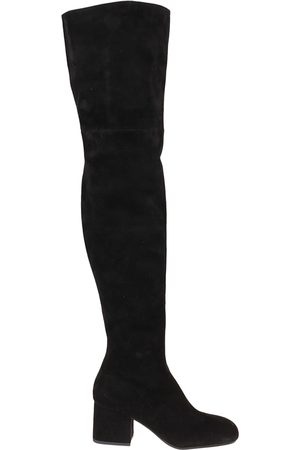 Marni Women Boots - WOMEN'S STMS005306P358000N99 SUEDE BOOTS