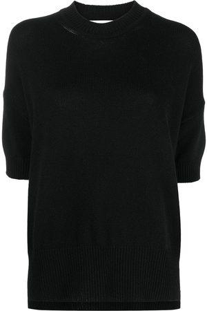 Jil Sander Mock-neck cashmere top