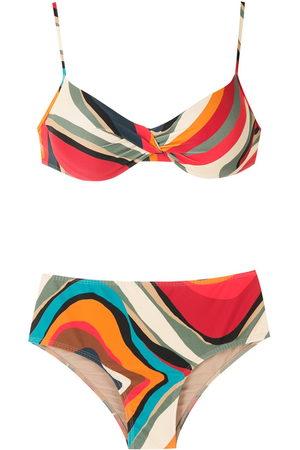 Lygia & Nanny Verônica printed bikini set