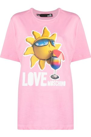 Love Moschino Logo-print T-shirt