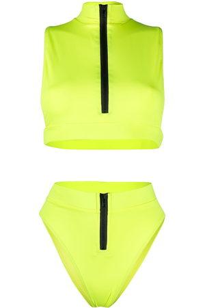 Noire Swimwear Malibu high-waist bikini