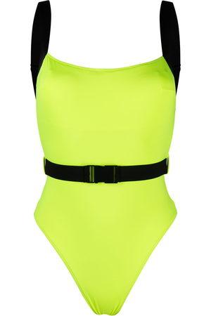 Noire Swimwear Women Swimsuits - Miami two-tone swimsuit