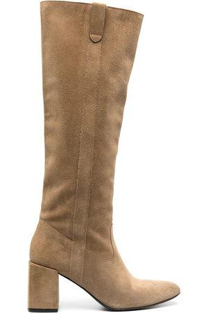Ami Women High Leg Boots - Knee length mid-heel boots