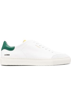 Axel Arigato Men Sneakers - 28673 GREEN YELLOW Leather/Fur/Exotic Skins->Leather