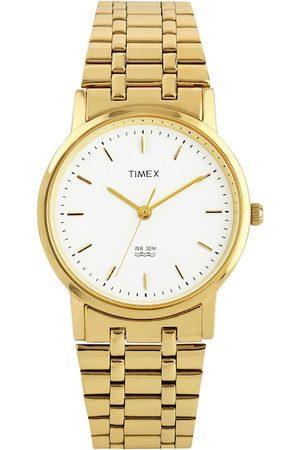 Timex Men White Dial Watch A303