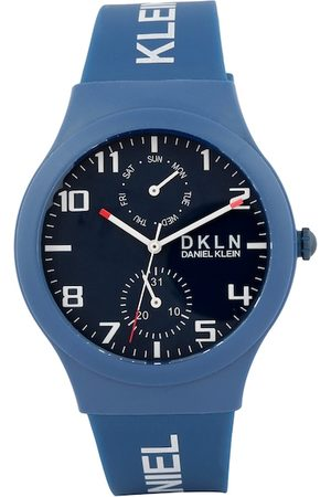 Daniel Klein Men Blue Analogue Watch