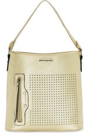 Pierre Cardin Gold-Toned Textured Handheld Bag