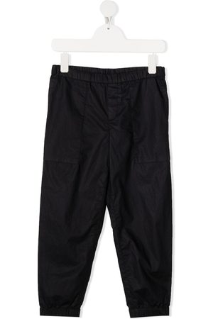 Emporio Armani Elasticated waistband trousers