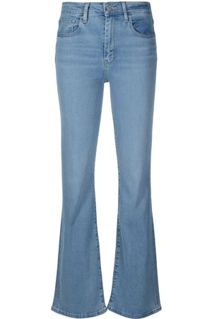 Levi's Mid-rise flared jeans