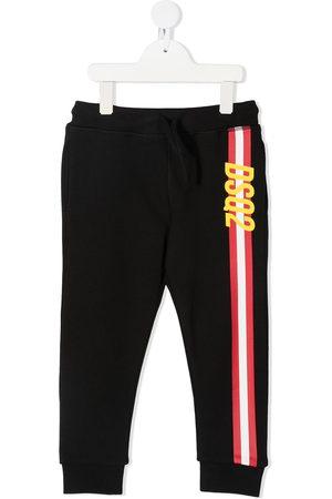 Dsquared2 Boys Sports Trousers - Logo stripe track pants