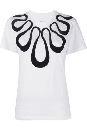 10 CORSO COMO Women Short Sleeve - Eden necklace print T-shirt