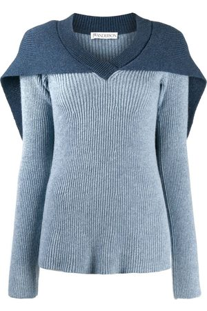 J.W.Anderson Women Jumpers - Cape knitted jumper