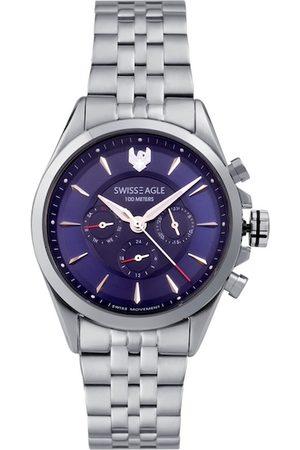 Swiss Eagle Men Blue Analogue Watch SE-9164-11
