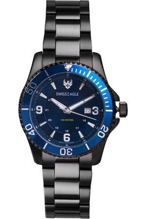 Swiss Eagle Men Blue Analogue Watch SE-9171-33