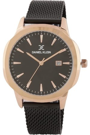 Daniel Klein Men Black Analogue Watch DK.1.12414-5