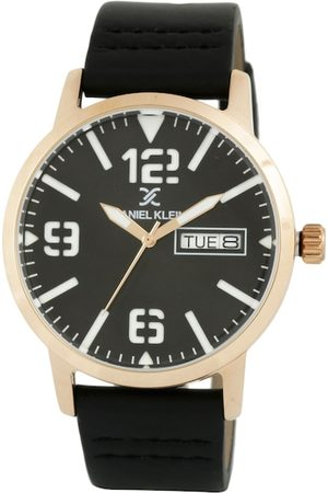 Daniel Klein Men Black Analogue Watch DK.1.12506-6
