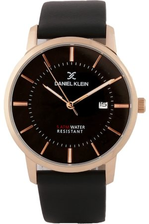 Daniel Klein Men Black Analogue Watch DK.1.12419-2