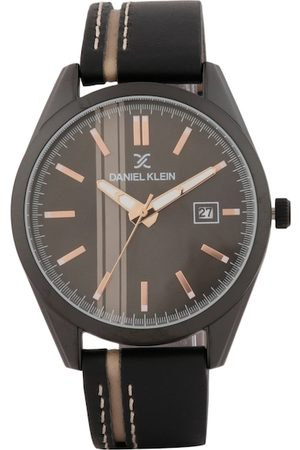 Daniel Klein Men Black Analogue Watch