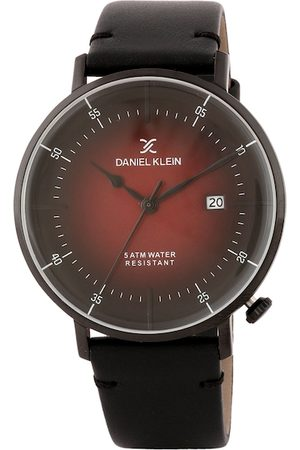 Daniel Klein Men Maroon & Black Analogue Watch DK.1.12515-6