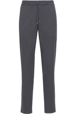 A.P.C. Kaplan Herringbone Cotton & Wool Pants