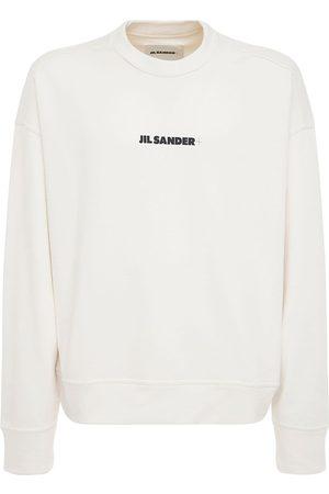 Jil Sander Plus Printed Cotton Sweatshirt
