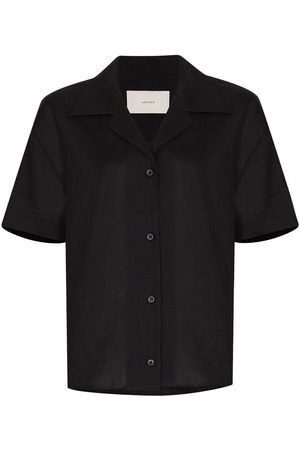ASCENO Organic linen button-up shirt