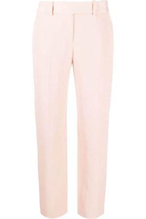 ERMANNO SCERVINO Mid-rise straight trousers