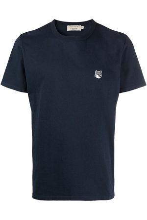 Maison Kitsuné Men Short Sleeve - Logo patch T-shirt
