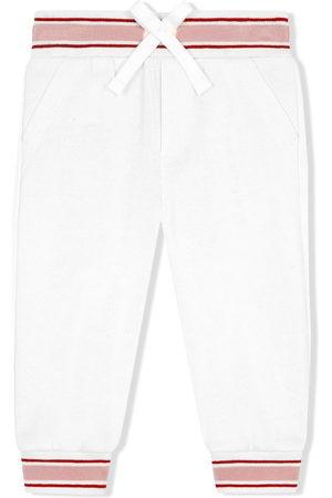 Dolce & Gabbana Trousers - Logo-print track pants
