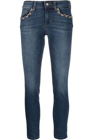 Liu Jo Chain-detail skinny jeans