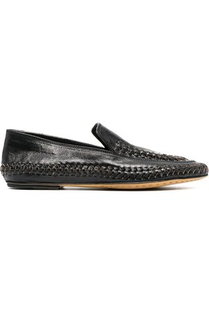 Officine creative Whipstitch-detail loafers