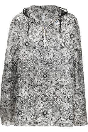 10 CORSO COMO Coats - X K-Way graphic-print hooded rain cape