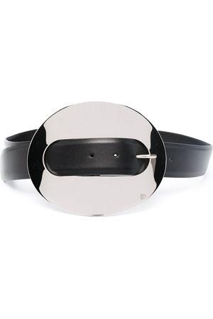 Paco rabanne XL Eight leather belt
