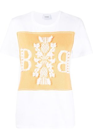 Barrie Logo cashmere patch T-shirt