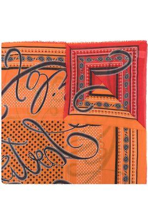 Faliero Sarti Polka-dot print detail scarf