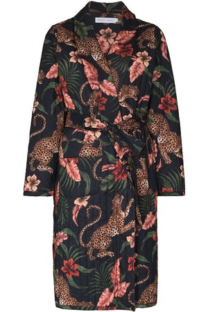 Desmond & Dempsey Women Pyjamas - Soleia leopard-print lounge set