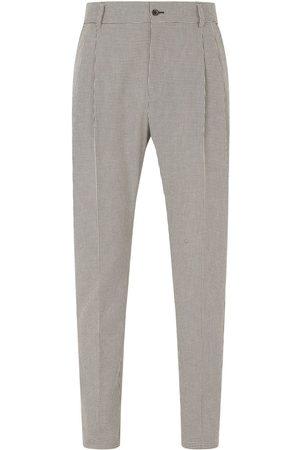 Dolce & Gabbana Houndstooth tailored trousers