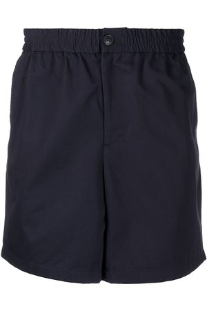 Ami Elasticated-waist Bermuda shorts